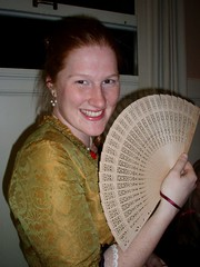 Lady in Gold with Fan (diane_rooney) Tags: san francisco costuming marieantoinette regency peers princeregent directoire scarlettpimpernelball scarletpimpernelballregencycostumingmarieantoinettedirectoirefrenchrevolution