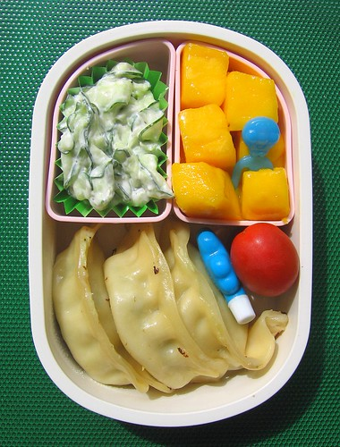 Potsticker lunch for toddler