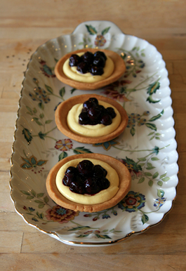 Blueberry Cream Cheese Tartlets