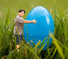 Day 194: Easter Leftovers (arkworld) Tags: selfportrait photoshop easter interestingness photoshopped egg 365 photoshopfun easteregg bestviewedsmall 365days interestingness210 easter2007 moodgood 365explore ideabymaricar iapr07
