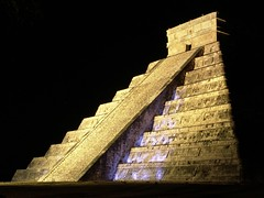 Light & Sound Chichen itza (Fer Gregory) Tags: chichen itza chichenitza chichn itz chichnitz piramid pyramid piramide steps night sound show kukulkan mexico merida yucatan f828 dscf828 dsc freg interesting recent relevant vacations black background mxico mexican abigfave thatsclassy fernando gregory milan reg new 7 wonder wonders seven mexicano light mexique myspace icon icons comment code codes hi5 friend art coments comments coment pictures clip
