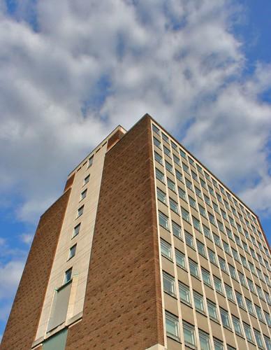 Queen's University, Belfast Main Library by LondonSLR.