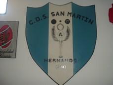 Escudo del Club Deportivo y Social San Martín
