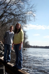 SMILE! (Sara Sully Photography) Tags: school friends love college boyfriend river sunny mississippiriver bestfriends niceweather stcloudstate girlfriend