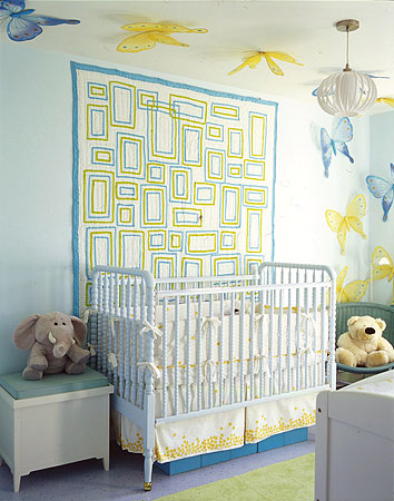 Domino Magazine Design Project - Baby Nursery