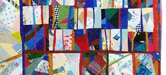 America (dt.) (manuelarbr) Tags: crazy quilt multicoloured