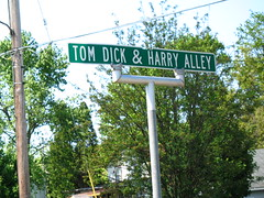 Tom Dick & Harry Alley