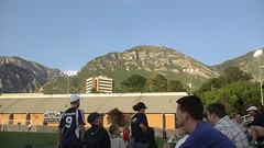 Mountains over the BYU South Field