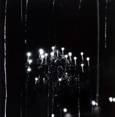 Balzac's Chandelier (J.T.R.) Tags: toronto black 120 dark holga lowlight tmax3200 candle gothic 120film lightleaks chandelier luminous postpunk balzacs holga120s cotcmostfavorited therearenoaccidents featuredimagedaskabinett myothercameraisaleica bauhausstigmatamartyr manyahappyaccident