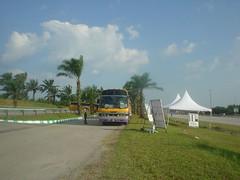 61.Sepang賽道的接駁公車