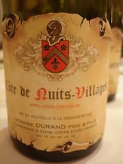 2004 - Cote de Nuits Village (Daniel (Jiuwine.com)) Tags: fille durand domaine pre