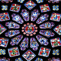 Chartres Cathedral — rose window Flickr photo by Dimitry B.