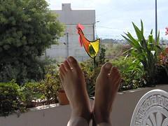 Mes pieds au Portugal ...