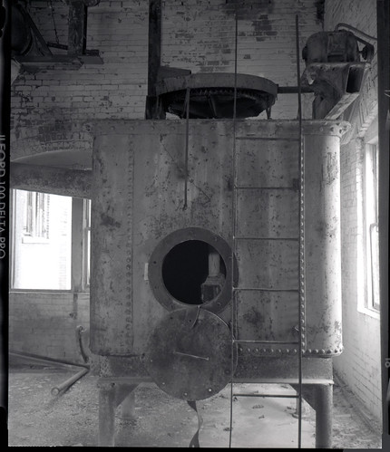 Box Boiler at the Longmont Sugar Refinery