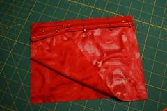 wristlet tute 3 (splityarn) Tags: cherries sewing corduroy tutorial wristlet splityarn