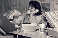 Operator (bryanscott) Tags: family woman girl vintage telephone retro files oldfamilyphotos