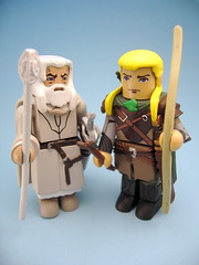 Gandalf and Legolas