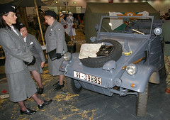 Re-enactors at Salute (Whipper_snapper) Tags: ww2 reenactors excel wargaming excellondon