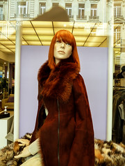 Paris Mannequin (J Wells S) Tags: mannequin dummy furcoat storewindowdisplay displaydummy paris france plasticpeople rightbank