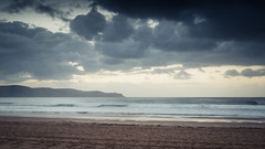 Cloudy seascape sunrise at Umina Beach (Merrillie) Tags: uminabeach sunrise nature australia nswcentralcoast newsouthwales sea longexposure nsw water beach ocean centralcoastnsw waterscape waves photography outdoors oceanbeach seascape landscape centralcoast dawn clouds