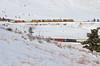 Snowy Coal Creek manifest (Moffat Road) Tags: unionpacific up ge ac4400cw coalcreekcanyon plainview plain colorado formerriogrande upmoffattunnelsubdivision moffattunnelsub mnyro manifestfreight freighttrain locomotive train railroad co