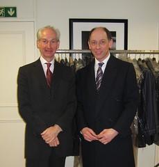 Joseph Morgan & Henry Lesser