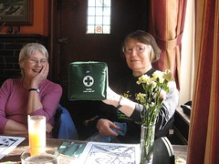 Joyce and the Clarion First Aid Kit