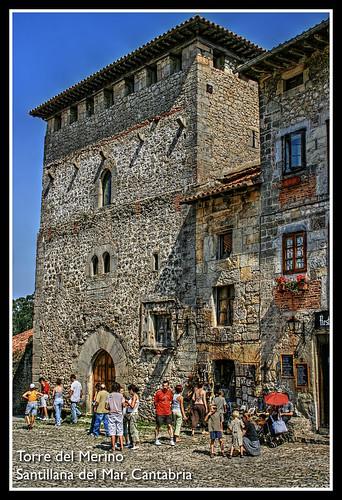 Torre del Merino, Santillana del Mar, Cantabria by ~Oryctes~.