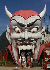 Dante's Inferno at Miracle Strip Amusement Park, Panama City Beach, Florida. (stevesobczuk) Tags: seaside florida amusementpark panamacitybeach miraclestrip redneckriviera us98 frontbeachrd