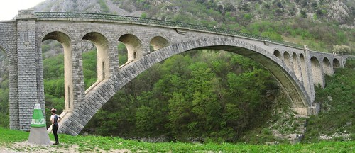 Biggest stone arch in the world, Nova Gorica, Slovenia