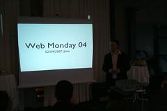 Webmonday - Eröffnung