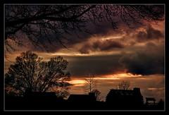 TwilightValleyForge.jpg (mikonT) Tags: sunset twilight nikon d70 pennsylvania pa hut valleyforge nikonstunninggallery bigfave abigfave mikont anawesomeshot ithinkthisisart