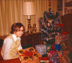 Judy with Jackson 5 album December 1970 (Darth Bengal) Tags: christmas sisters albums 1970 1970s jackson5
