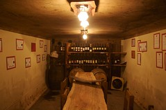 Wine maker's tasting room