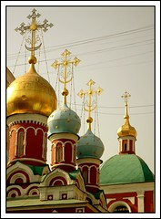 ! / Happy Easter! (marina.shakleina) Tags: city church cross russia moscow         domna canyoumapthis