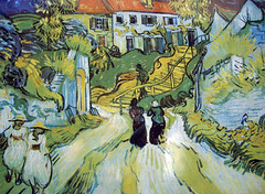 Then and Now: Auvers-sur-Oise by Van Gough
