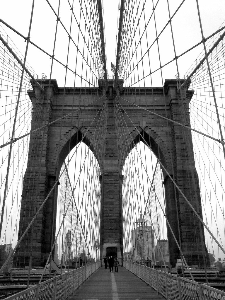 Brooklyn Bridge - Attraction - Brooklyn Bridge, New York, NY, USA
