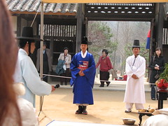The Groom (javabell) Tags: korea suwon koreanfolkvillage