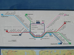 Oslo subway map