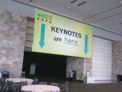 Anyone know where the keynotes are?