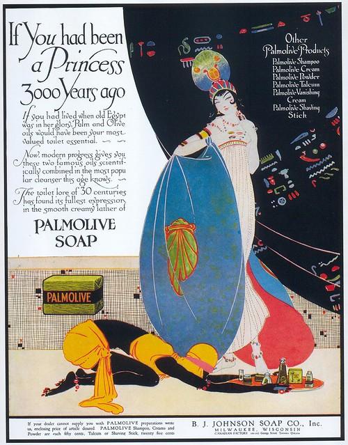 Palmolive Soap, 1916
