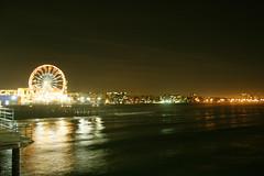 Ferris Wheel 2 (Of light) Tags: ca carnival evening ferriswheel santamonicapier
