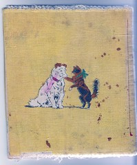 Textile book 1922 (Babiroussa) Tags: animal illustration dessin 1922 pellerin epinal childrenillustration imageriedpinal textilebook imagedpinal livreentissu