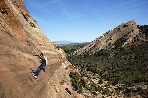 Desert Climbing