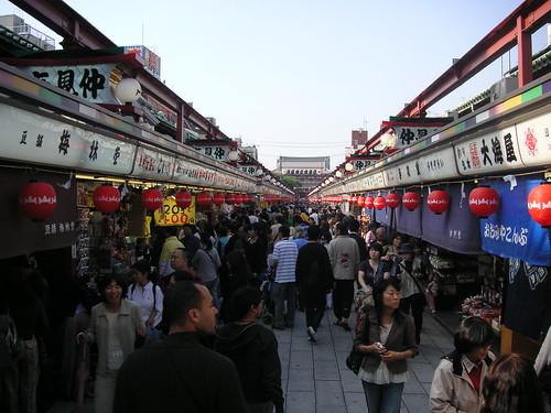 Nakamise Dori, Asakusa