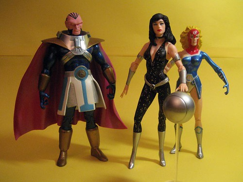 Monitor, Donna Troy and Harbinger