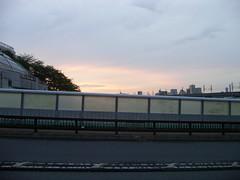 22 南橋大橋 03.橋の上の広い夕焼け