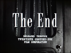 The End (Dill Pixels) Tags: cinema film movie screenshot noir theend hollywood end namethatfilm titles ntf nightmarealley endtitle