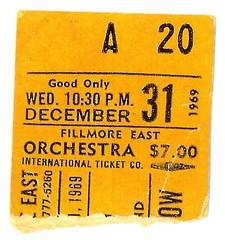 New York (Fillmore East) : 31 décembre 1969 [Second concert]  517866802_a137e24051_m