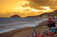 BAYWATCH (GIUSEPPE GRECO PHOTO) Tags: sea sky people beach clouds island persona landscapes nuvole mare cielo ischia spiaggia isola naturesfinest